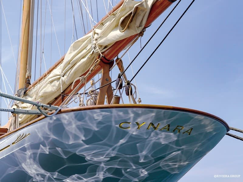 Cynara featured in the June issue of Classic Boat magazine